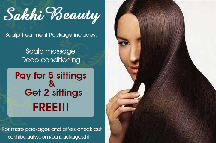 Scalp Treatment Package - Sakhi Beauty