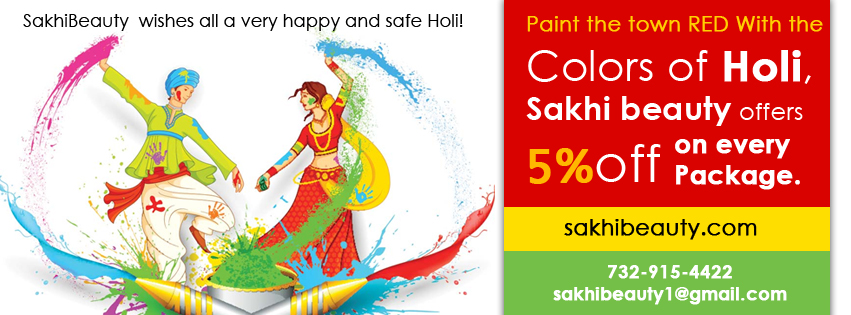 sakhiBeauty Holi Special Offer