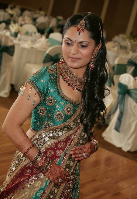 Modern Indian Bridal Makeup by Sakhi