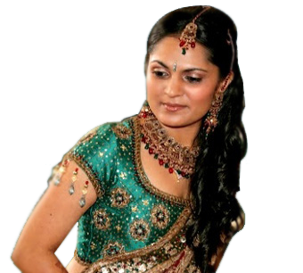 Indian bridal make-up
