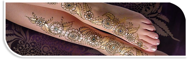Mehandi/Henna Designs for Wedding Parties